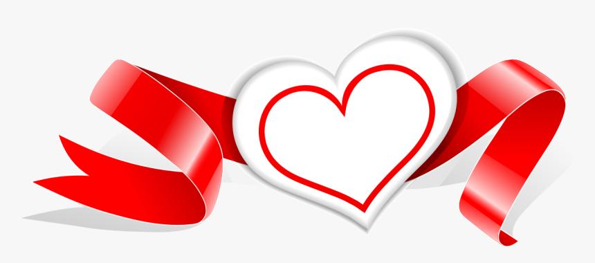 Ribbon Heart Photography Royalty Free Vector Love Ribbon Hd Png