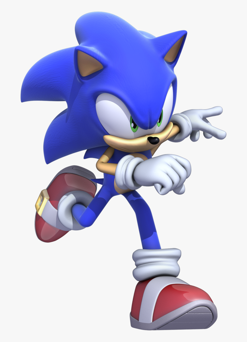 Sonic The Hedgehog 2006 Sonic Running Hd Png Download