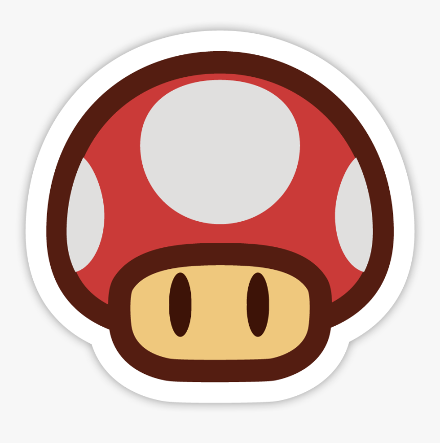 Super Mario Mushroom 2d Hd Png Download Transparent Png Image