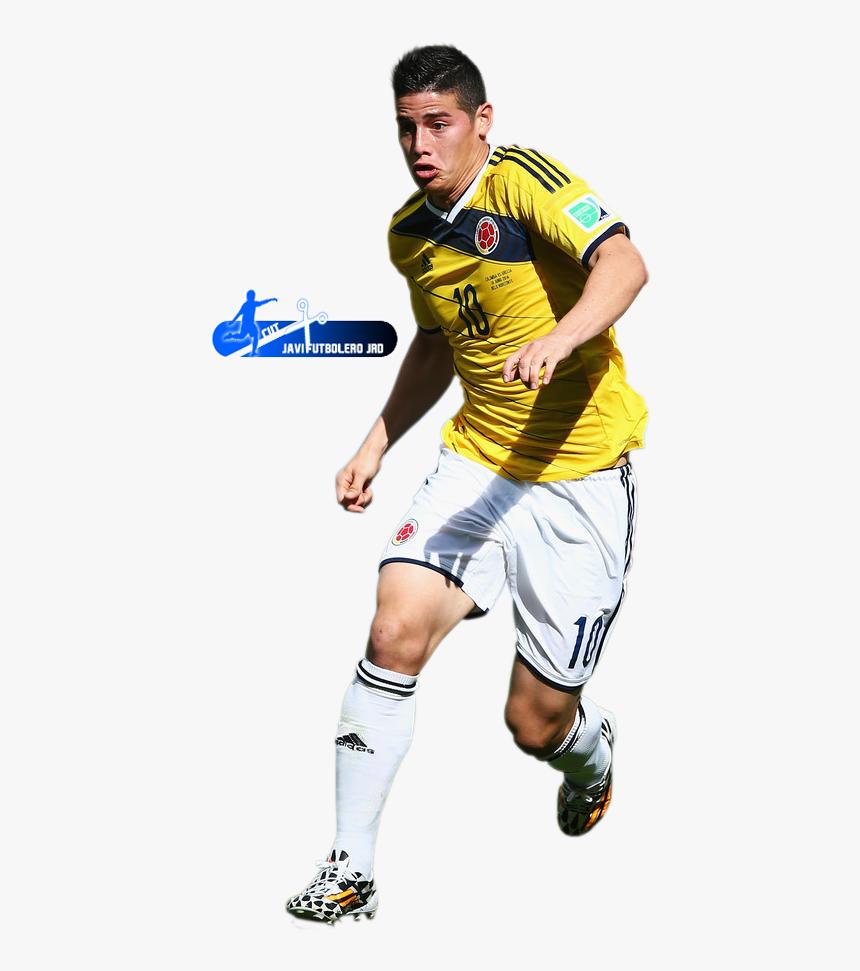 James Rodriguez James Rodriguez Colombia World Cup 2014 Hd Png Download Transparent Png Image Pngitem