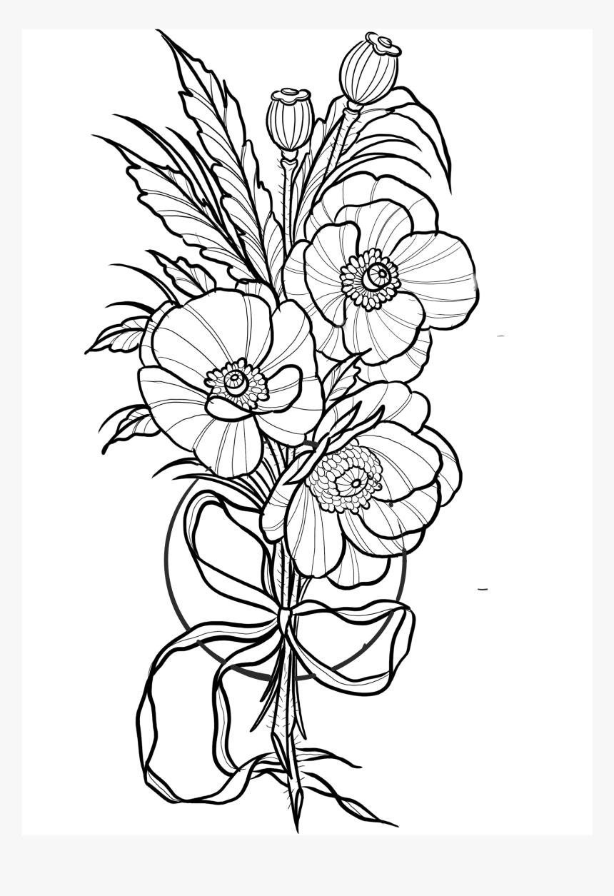 Png Flower Tattoo Designs Transparent Png Transparent Png Image Pngitem