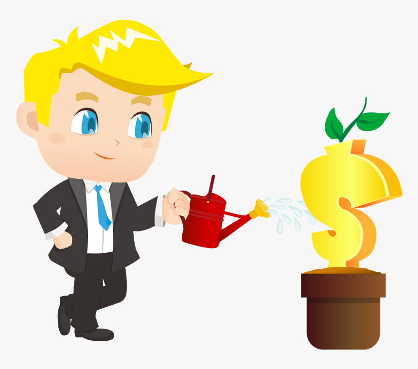 Planting Clipart Water Plant - Garden Man Clipart Png , Free Transparent  Clipart - ClipartKey