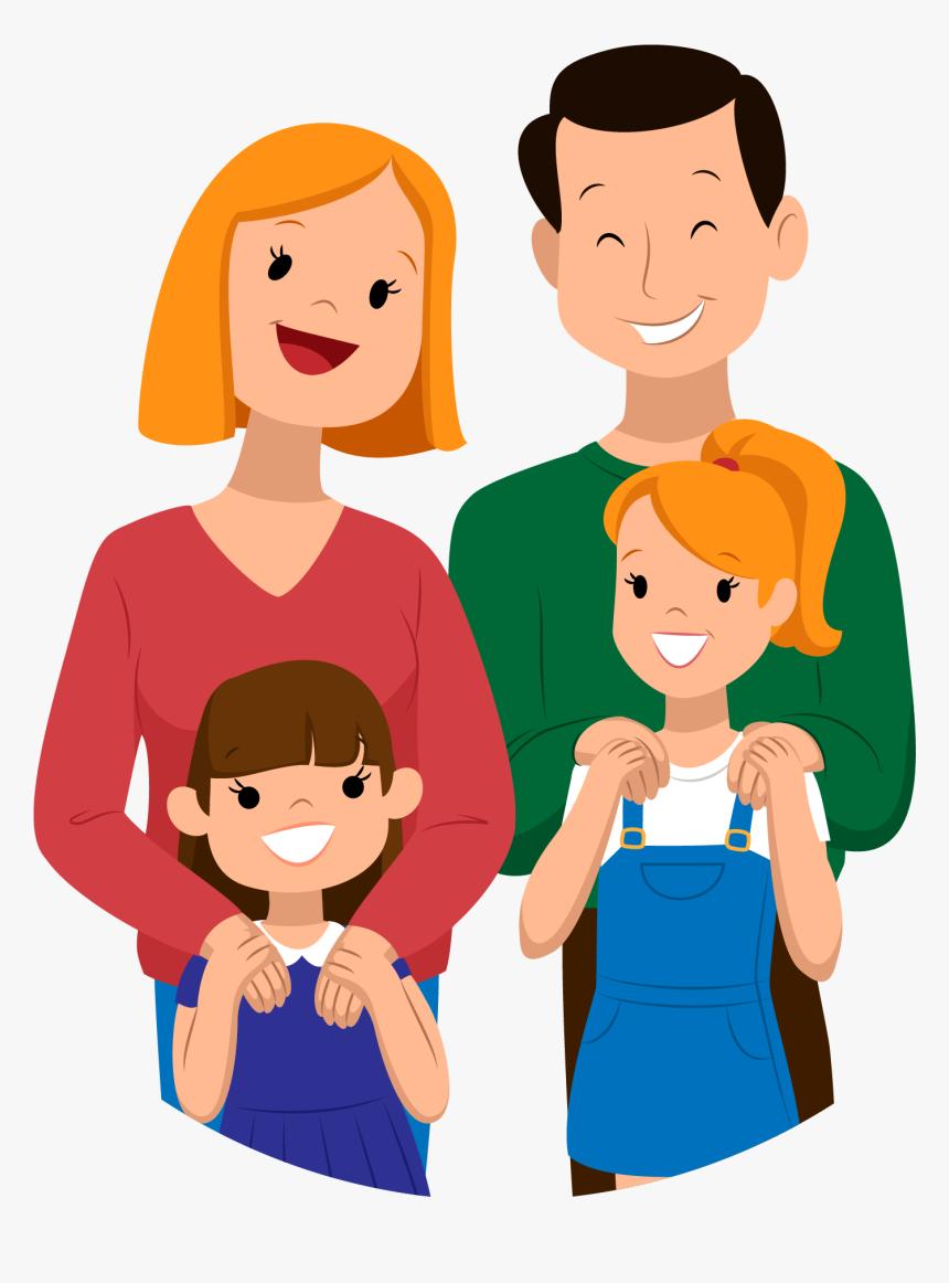 Transparent Family Vector Png Cartoon Family Png Transparent Png Download Transparent Png Image Pngitem