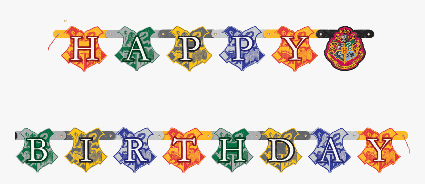 Happy Birthday Banner Background Png Harry Potter Happy Birthday Banner Free Printable Transparent Png Transparent Png Image Pngitem