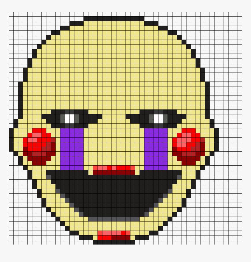 Drawn Pixel Art Fnaf Puppet Grid Minecraft Pixel Art Hd Png Download Transparent Png Image Pngitem