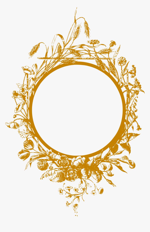 Golden Simple Frame Frame Clipart Frame Gold 2