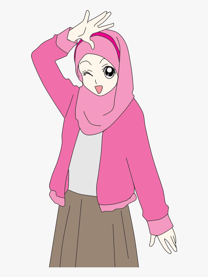 Hijab Cartoon Cartoon N Muslimah Anime Cute Doodles Hijab Cute Cartoon Hd Png Download Transparent Png Image Pngitem
