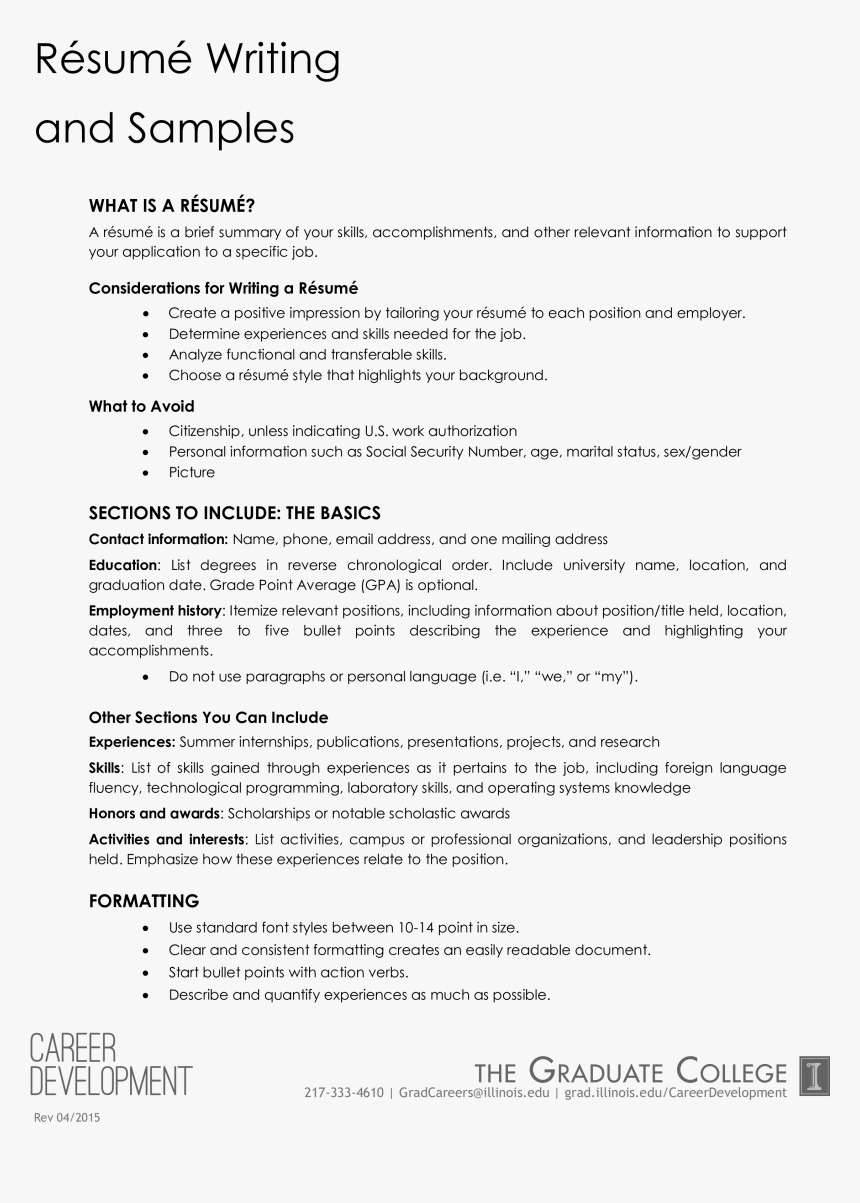 Office Work Experience Resume Main Image Leadership Position