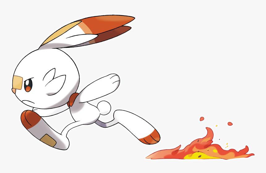 Pokemon Scorbunny Hd Png Download Transparent Png Image Pngitem