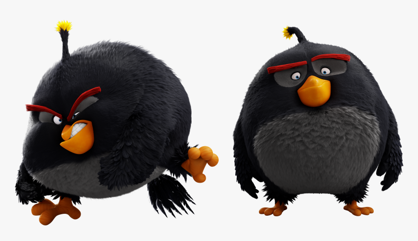 Angry Birds Wiki Angry Birds Black Bomb Hd Png Download