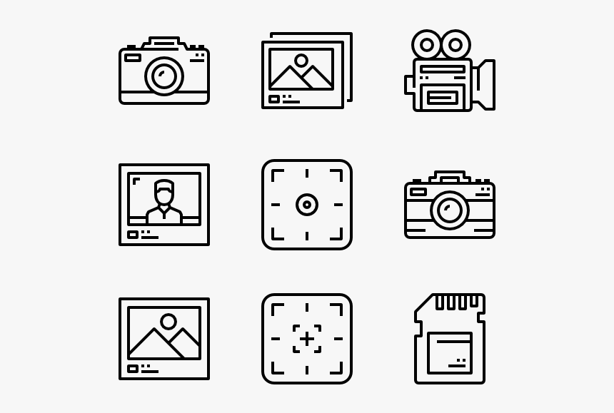 Photography , Decor Icon Transparent Background, HD Png
