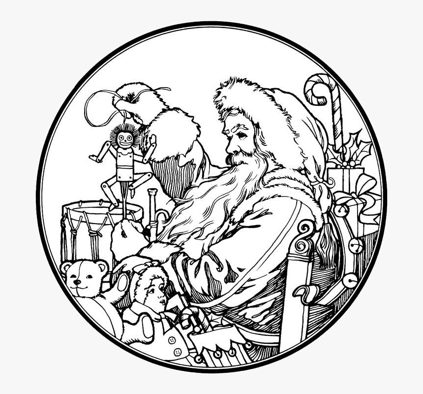 Santa Mrs Claus Coloring Page - Coloring Home | 800x860