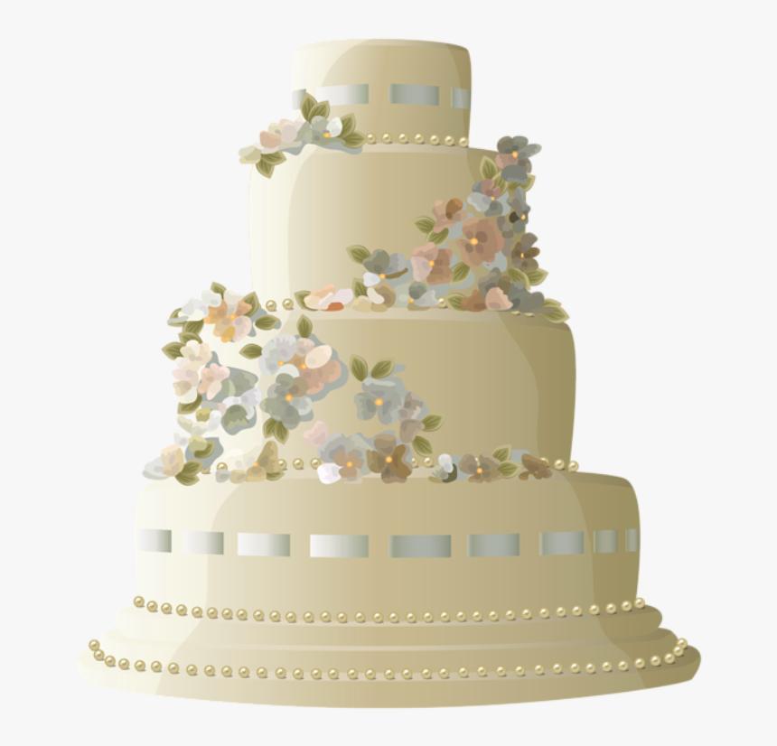 Decorado Com Flores Bolos Birthday Cake 4 Layers Hd Png