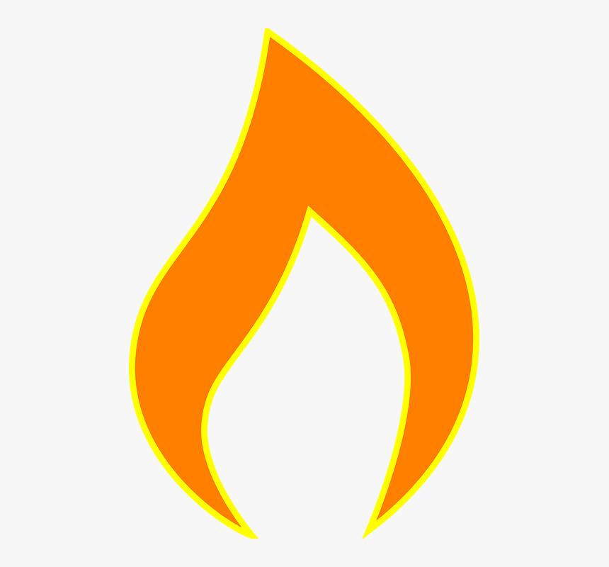 Fire Flame Bright Burn Heat Chama De Vela Desenho Hd