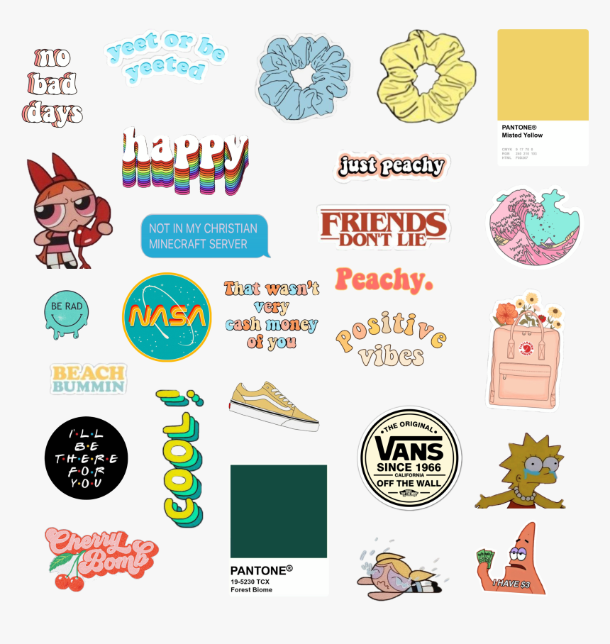 Aesthetic Vintage Png Sticker Decals Transparent Png Transparent Png Image Pngitem