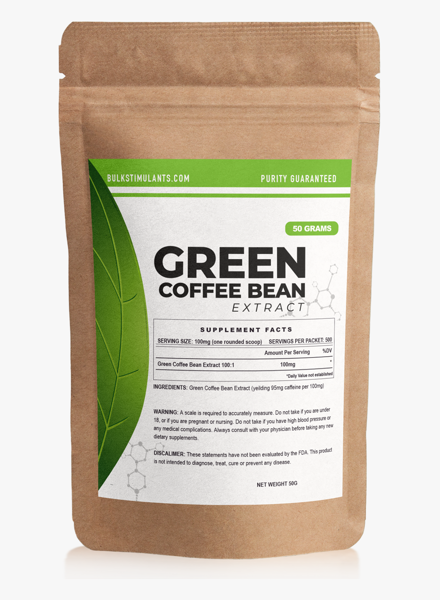 Green Coffee Bean Extract Powder Mulch Hd Png Download