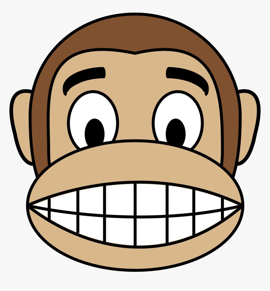 Gambar Monyet Animasi Png Face Happy Monkey Free Picture Gambar Monyet Kartun Keren Hd Png Download Transparent Png Image Pngitem