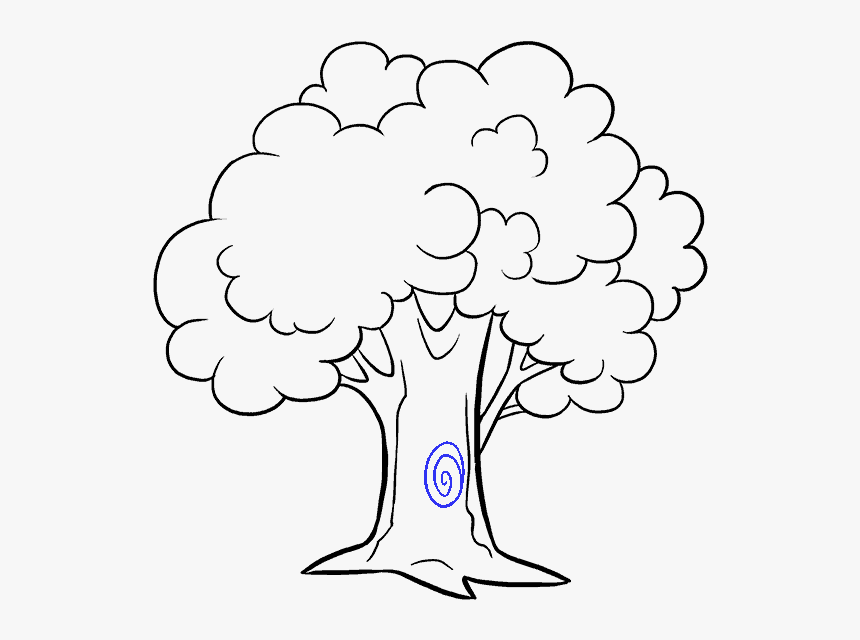 How To Draw Cartoon Tree Cartoon Tree Easy Drawing Hd Png Download Transparent Png Image Pngitem Begin by drawing two parallel lines. cartoon tree easy drawing hd png