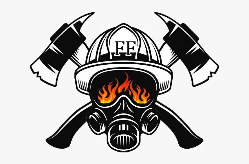Firefighter S Helmet Firefighting Fire Department - Firefighter Helmet  Logo, HD Png Download , Transparent Png Image - PNGitem