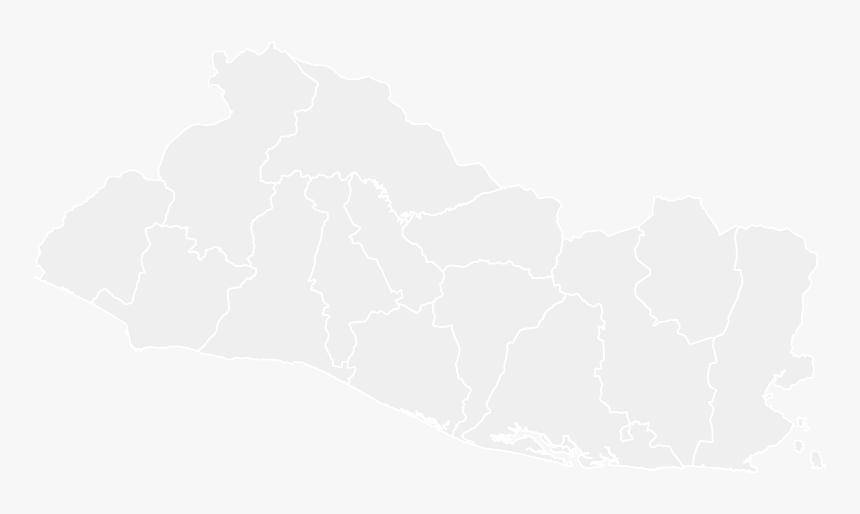 Mapa En Blanco De El Salvador El Salvador Mejicanos Map Hd Png Download Transparent Png Image Pngitem