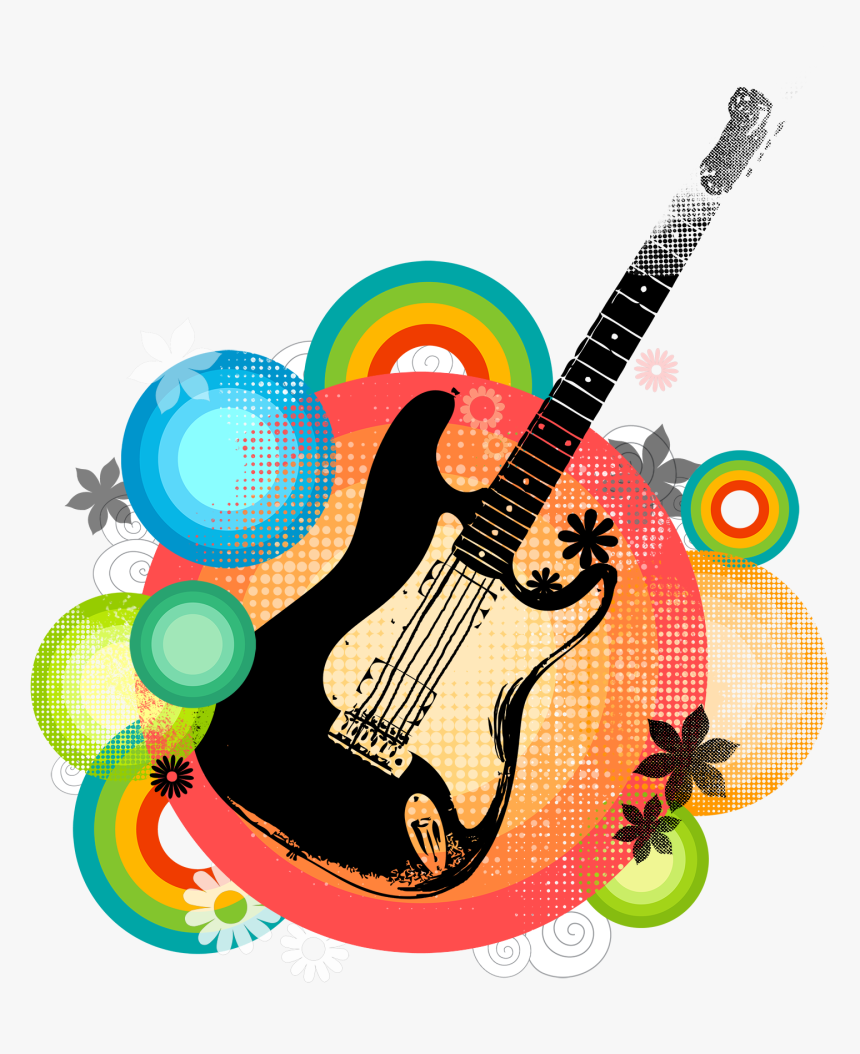 art electric poster material guitar posters clipart poster seni musik gitar hd png download transparent png image pngitem art electric poster material guitar
