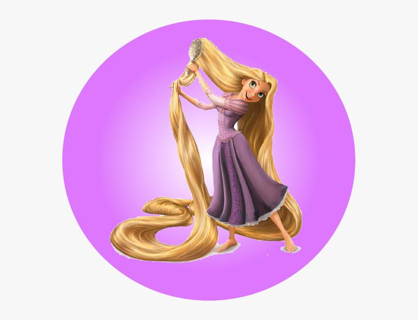 Rapunzel Brushing Her Hair Rapunzel Tangled Hd Png Download Transparent Png Image Pngitem