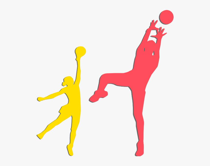 Sport Clipart Netball - Clipart Netball, HD Png Download ...