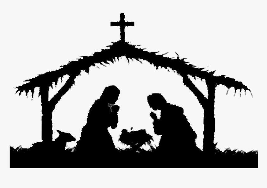 Christmas Manger Transparent Png Nativity Scene Png Png Download Transparent Png Image Pngitem