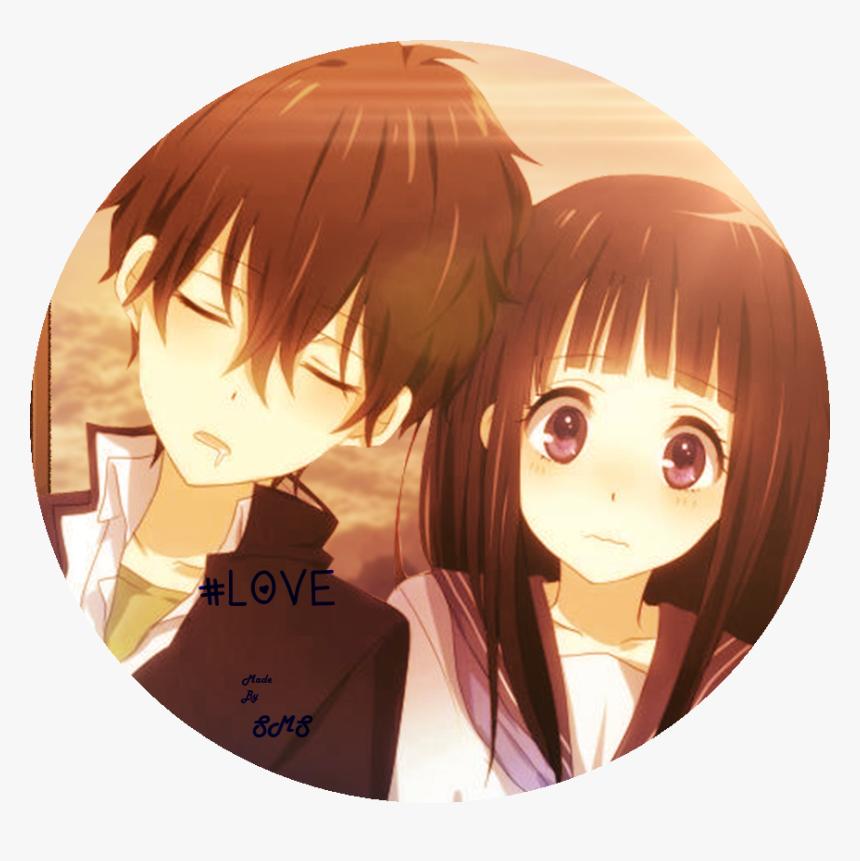 Couple Anime Romance Cute Hd Png Download Transparent Png Image Pngitem