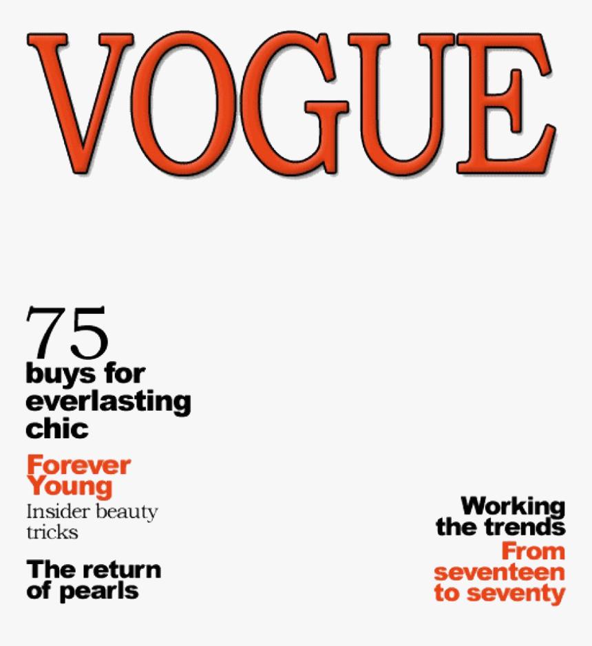 Vogue Magazine Cover Png Image Magazine Cover Template Vogue Transparent Png Transparent Png Image Pngitem