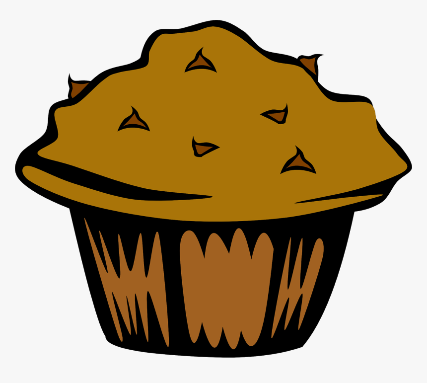 Muffin Chocolate Chip Cupcake Breads Bakery Goods Muffin Clip Art Hd Png Download Transparent Png Image Pngitem