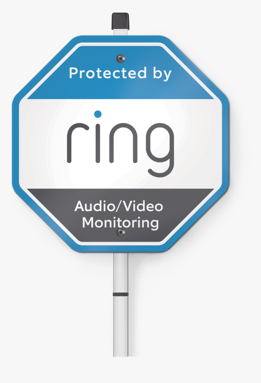 Ring Security Yard Sign Includes Security Yard Sign