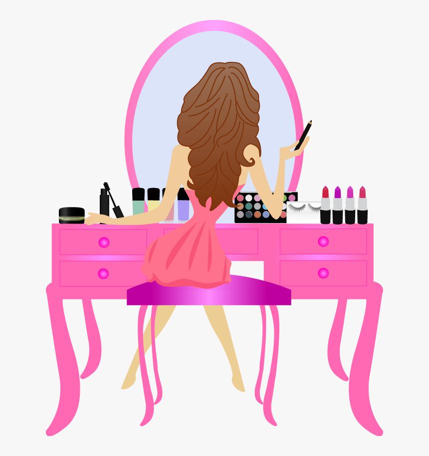 Topper De Bolo Maquiagem Png Transparent Png Transparent Png