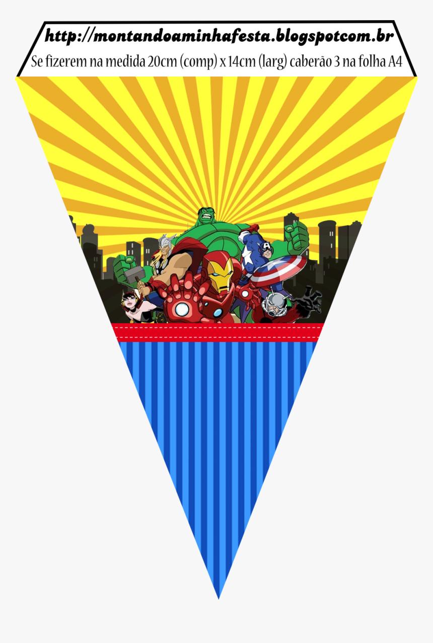 Avengers Comic Version Free Printable Banner Party Hd Png Download Transparent Png Image Pngitem