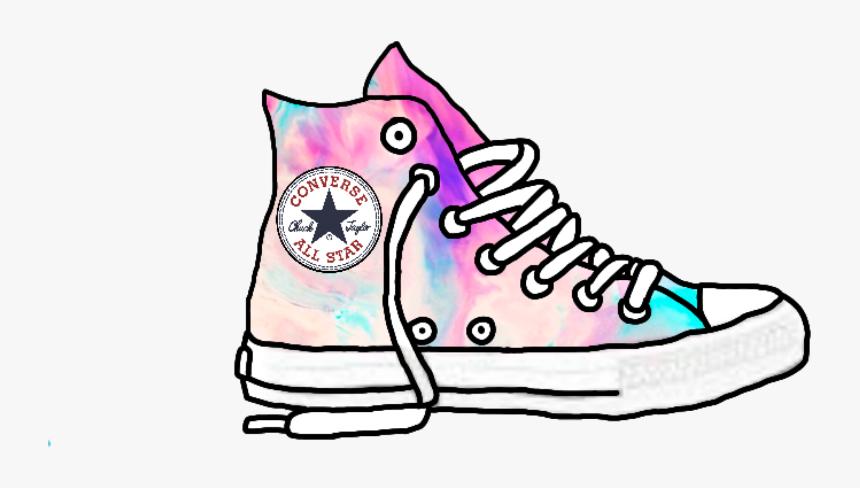 Orgullo Respetuoso del medio ambiente A la meditación  galaxy #colorful #converse #shoes #sticker #png #tumblr - Converse ...