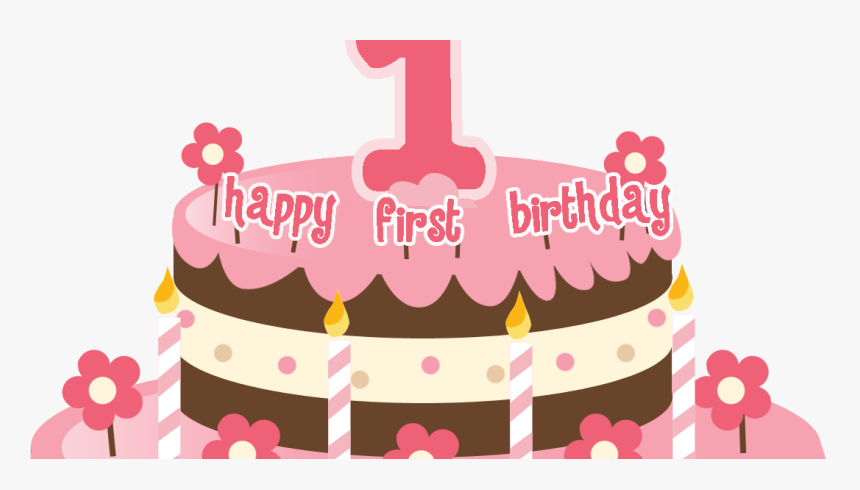 Excellent Transparent First Birthday Clipart 1St Birthday Cake Png Png Funny Birthday Cards Online Alyptdamsfinfo