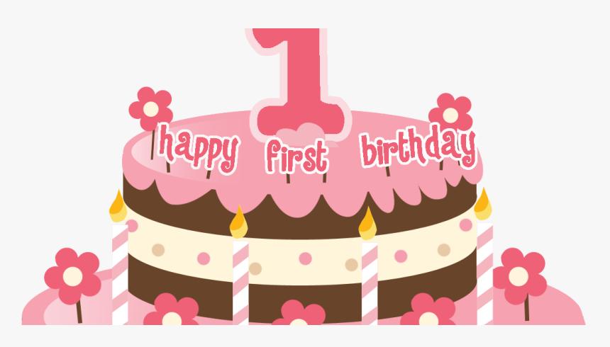 Wondrous Transparent First Birthday Clipart 1St Birthday Cake Png Png Personalised Birthday Cards Bromeletsinfo
