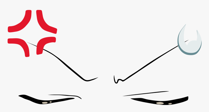 Angry Anime Face Png Transpa