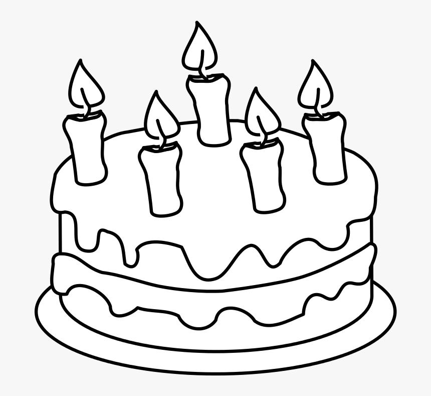 Enjoyable Draw This Birthday Cake Birthday Cake Outline Png Transparent Funny Birthday Cards Online Hendilapandamsfinfo