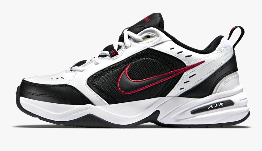Nike Air Monarch Snr00 White Black Red