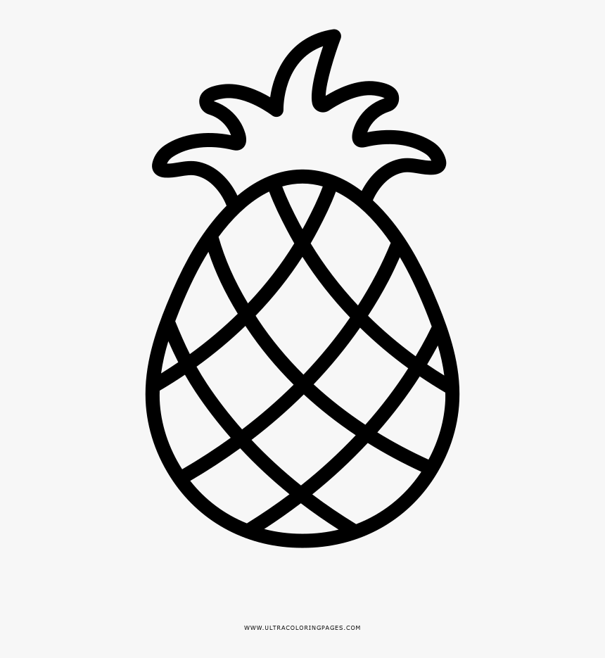 Pineapple Coloring Page Basketball Outline Png Transparent Png Transparent Png Image Pngitem