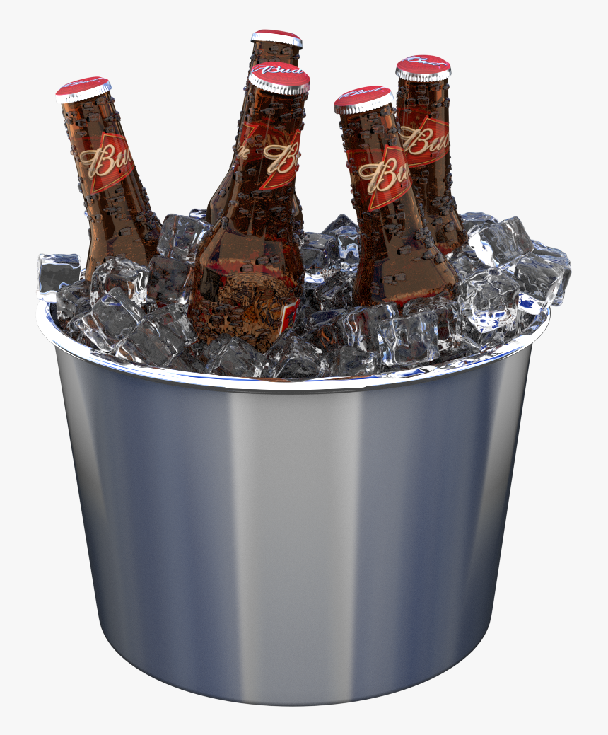 Ice Bucket Png Photo Ice Bucket Beer Png Transparent Png