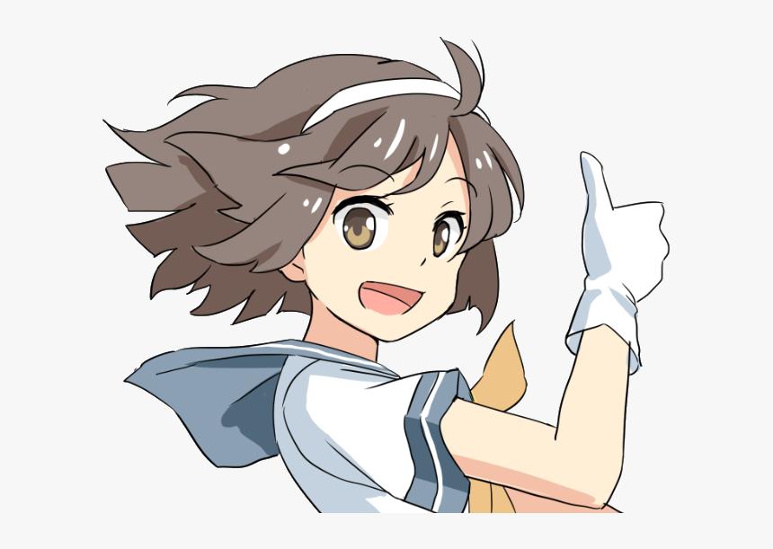 Anime Thumbs Up Png Png Download Transparent Png Transparent Png Image Pngitem