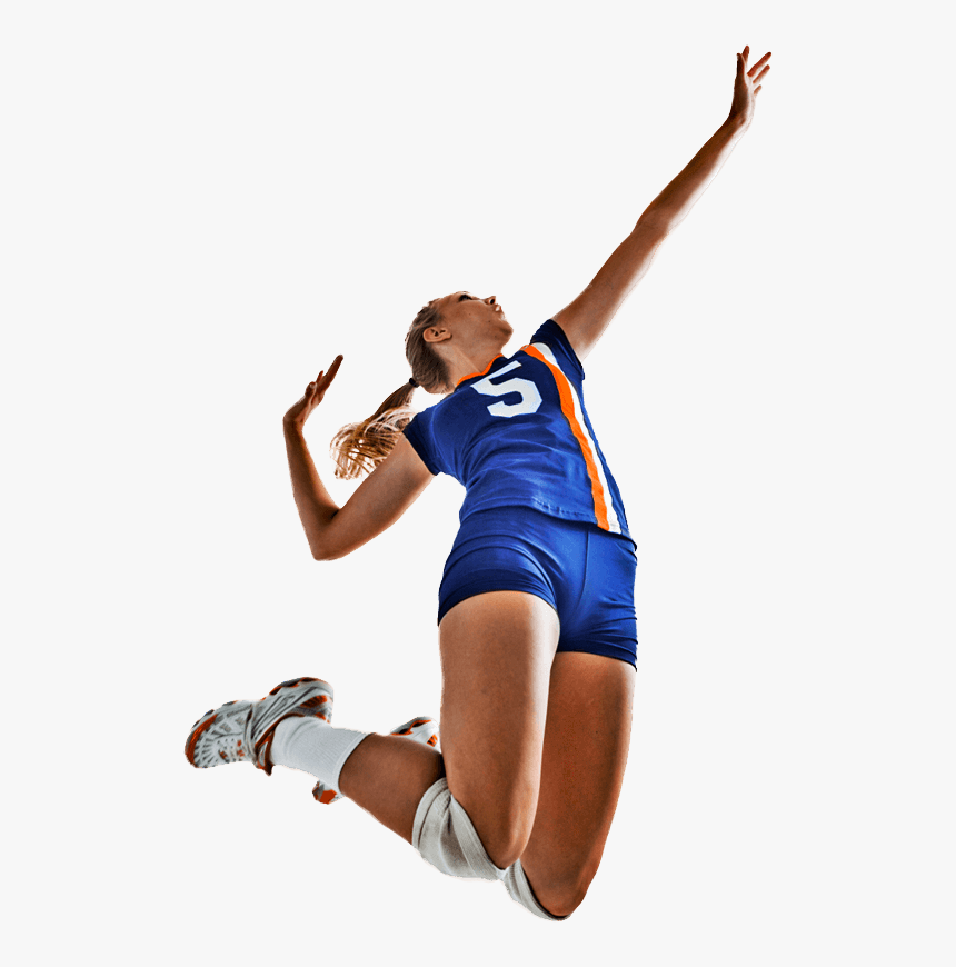 volleyball player silhouette png - Clip Art Library