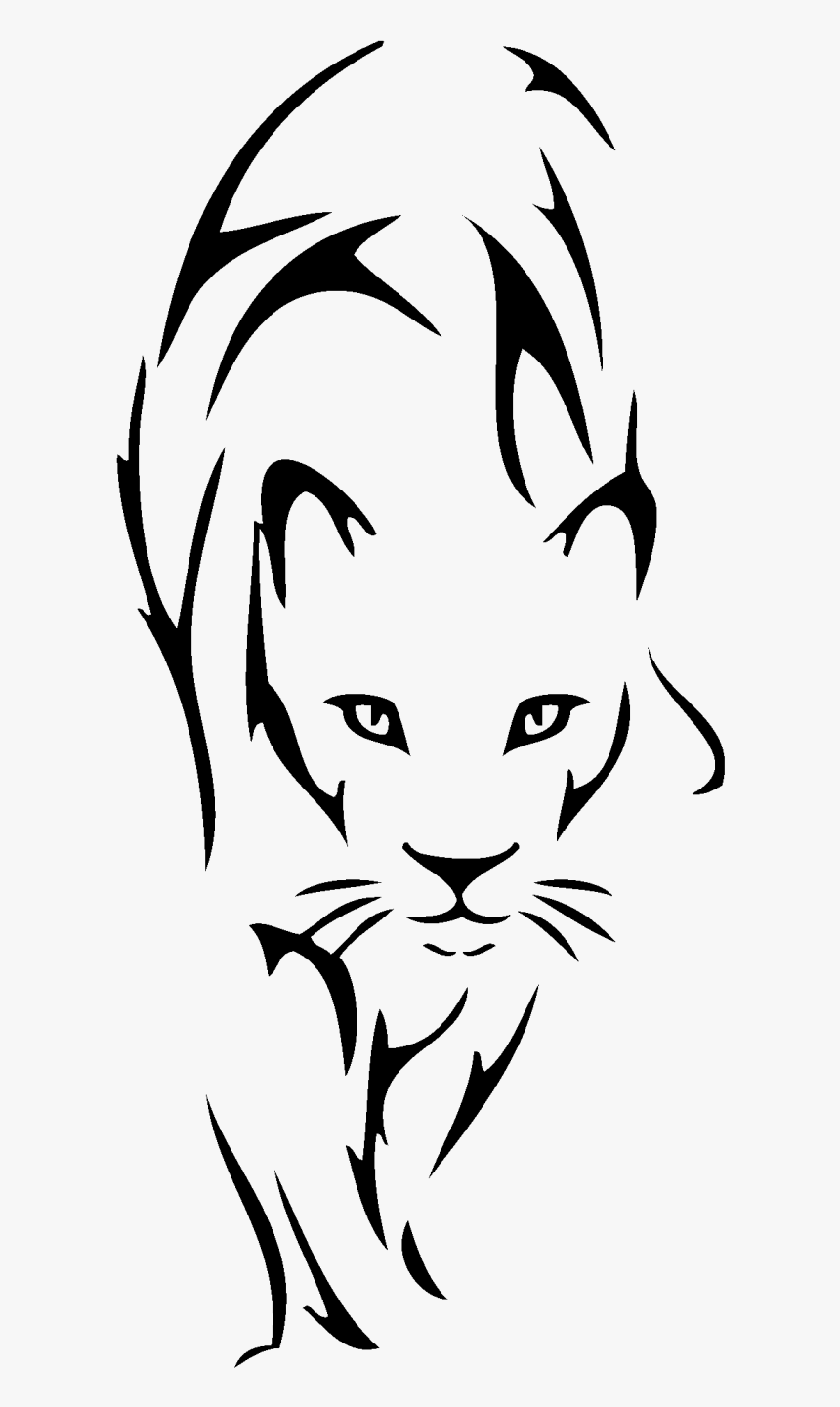 Lion Tattoo Drawing Tribe Clip Art Tribal Lioness Tattoo Hd Png Download Transparent Png Image Pngitem Black and grey lion tattoo for leo girls. lion tattoo drawing tribe clip art
