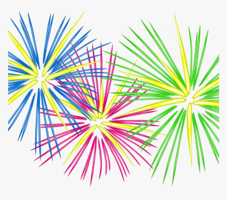 Transparent Fireworks Clipart Png - Clip Art Fireworks, Png Download -  kindpng
