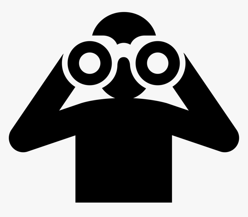 Transparent Objetivo Png - Binoculars Icon Png, Png Download ...
