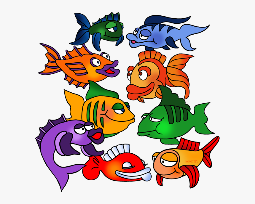 Transparent School Of Fish Png School Of Fish Cartoon Png Download Transparent Png Image Pngitem