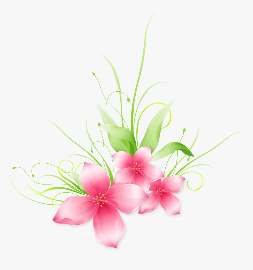 Pink Flower Png Clip Vector Bunga Pink Png Transparent Png