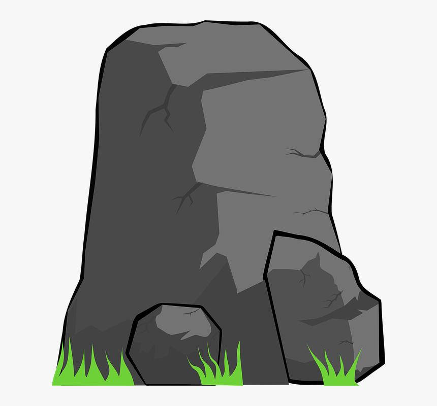Transparent Cartoon Rock Png Batu Vektor Png Png Download Transparent Png Image Pngitem